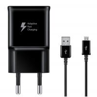 Adaptive Fast Charger voor Samsung (Micro USB) Zwart